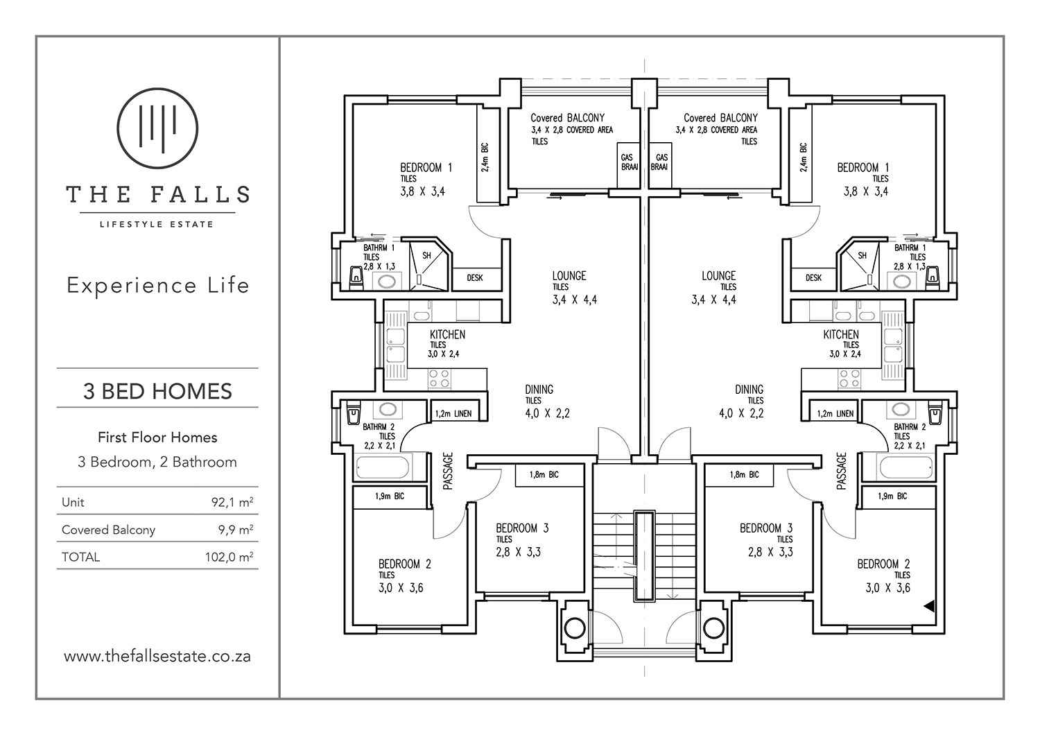 The Fall Lifestyle Estate - 3 Bed First Floor Home for sale - floorplans