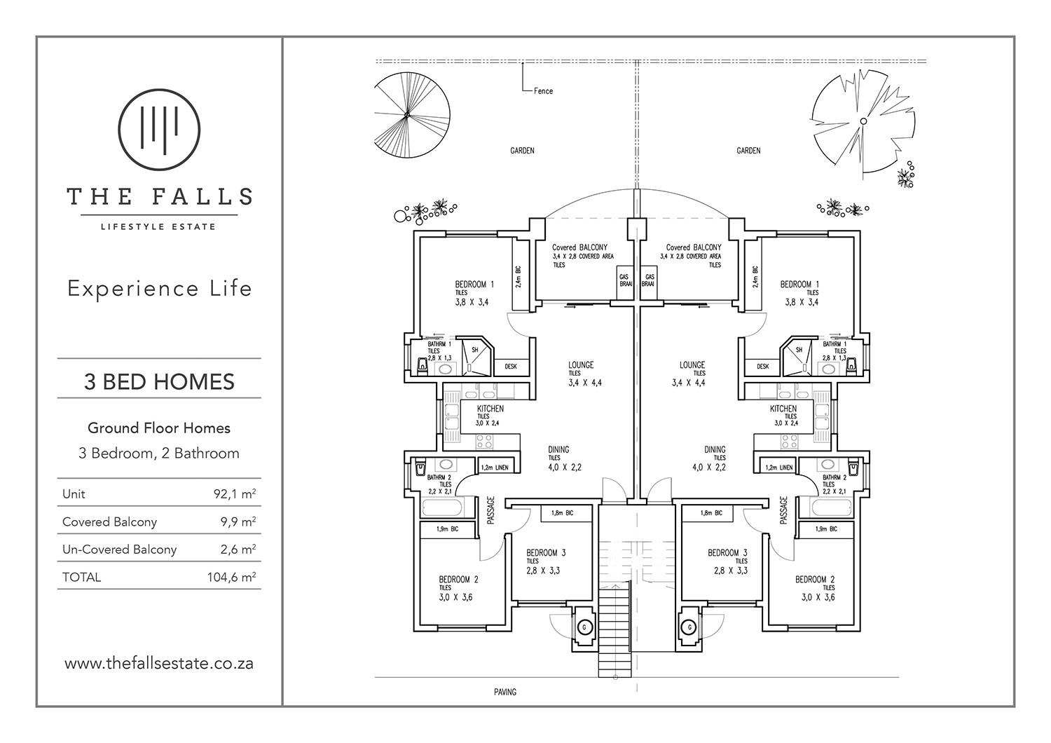 The Fall Lifestyle Estate - 3 Bed Ground Floor Home for sale - floorplans
